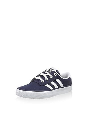 Adidas Kiel Scarpe da Corsa, Uomo, Blu (Collegiate Navy/White/Carbon), 38