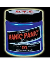 Manic Panic Classic Cream Semi-Permanent Vegan Hair Color - SHOCKING BLUE
