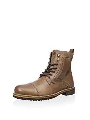 Ben Sherman Men's Century Cap Toe Brogue Boot