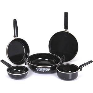 Milton Nova 5 Pcs Hard Coat Cookware