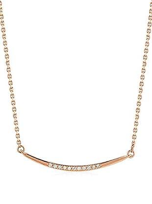 ZZ_Divas Diamond Halskette vergoldetes Silber 925