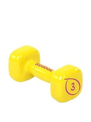 Reebok Gewichte 3 kg  gelb