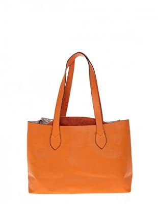 Elysa Tote-Bag mit Quaste (Orange)