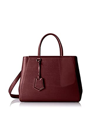 Fendi Women's 2 Jours Tote, Red