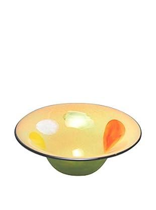Mila Brown Intermezzo Round Centerpiece Bowl