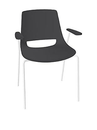ARPER Stuhl Palm schwarz