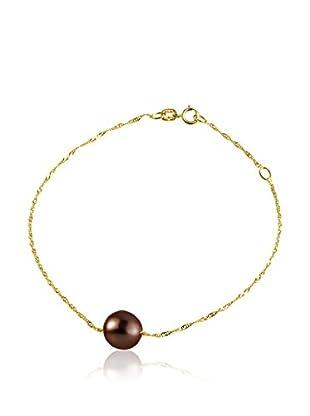 Compagnie générale des perles Pulsera Venetian Rojo Oscuro
