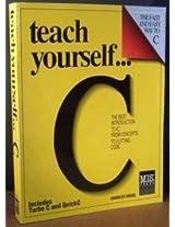 Teach Yourself C.