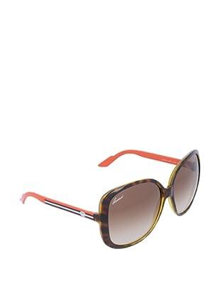 Gucci Gafas de Sol GG 3157/S YY Q22 Havana Oscuro Naranja