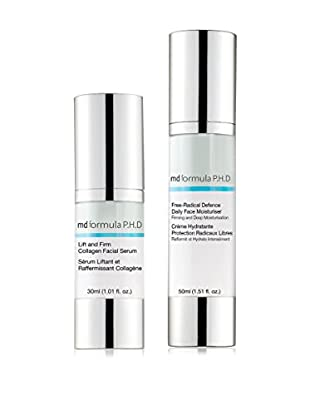 MD Formula Set Trattamento Viso 2 pezzi Free-Radical Defence/Lift & Firm 80 ml
