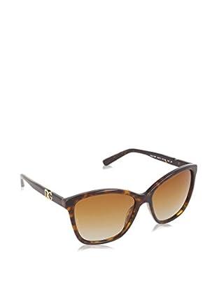 DOLCE & GABBANA Gafas de Sol Polarized 4170P 502_T5 (57 mm) Havana