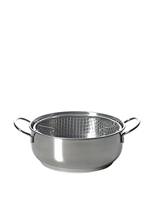 Brunch Time Fritteuse Stainless Steel silberfarben