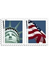 1 Coil Lady Liberty and U.S. Flag Forever Stamps 100 ct
