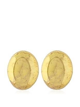 Córdoba Joyeros Pendientes  plata de ley 925 milésimas bañada en oro