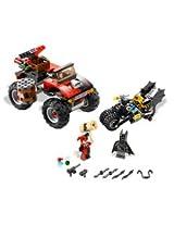 LEGO Batman The Batcycle: Harley Quinn s Hammer Truck