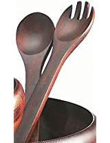 Lipper International 12-Inch Cherry Salad Servers