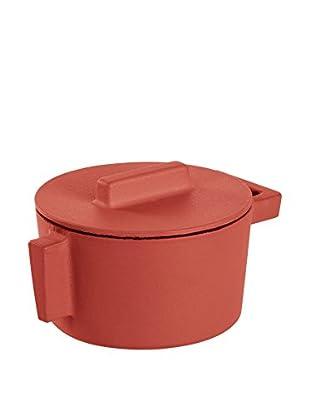 Sambonet Kasserolle mit Deckel rot