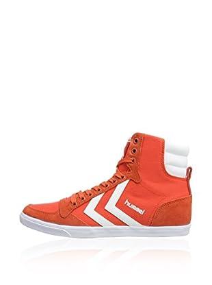 Hummel Sneaker Slimmer Stadil High (koralle)