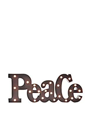 LO+DEMODA Wanddeko LED Peace
