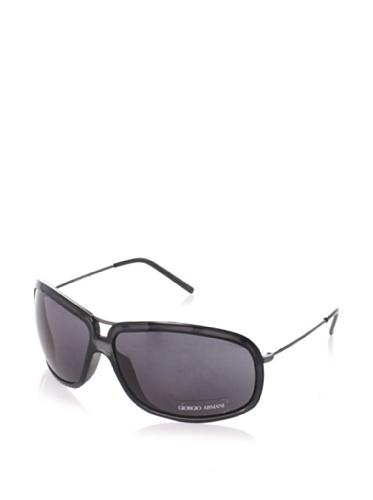 Giorgio Armani Women's Wrap Aviator Sunglasses (Antique Grey/Dark Grey)