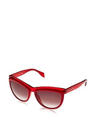 Alexander McQueen Gafas de Sol AMQ4247/S (58 mm) Rojo