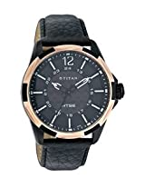 Titan HTSE Analog Black Dial Men's Watch - NE1573KL03