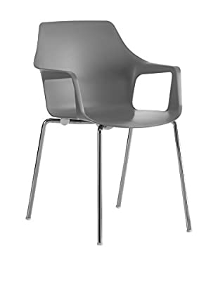 COLOS Stuhl 2er Set Vesper 2 grau/chrom