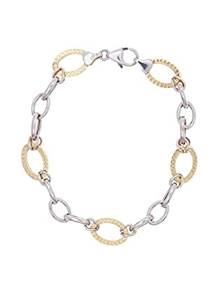 Gold & Diamond Pulsera Combi
