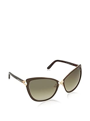 TOM FORD Occhiali da sole FT0322-13028F59 (59 mm) Dorato/Marrone
