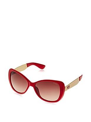 Guess Occhiali da sole GU 7392 (58 mm) Rosso Scuro