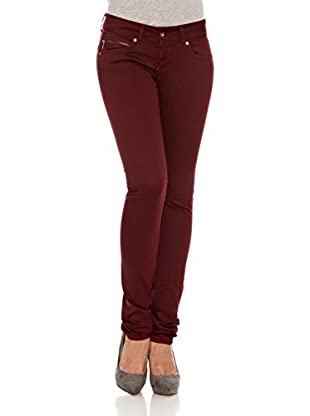 Pepe Jeans London Pantalón Brooke (Burdeos)