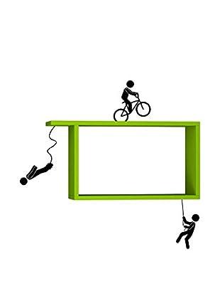 Matte Maison  Regalbrett Sportmen grün