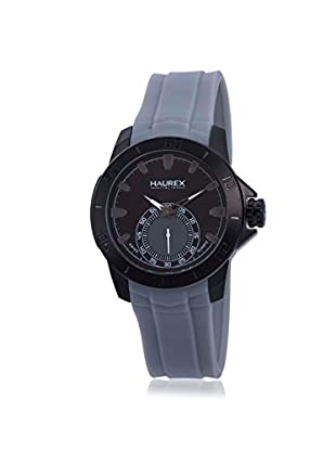 Haurex Men's 3N503UJJ Acros Grey/Black Rubber Watch