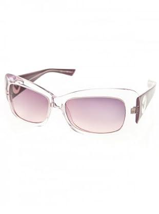 Emporio Armani Damen Sonnenbrille 1005696 (transparent/violett/violett)