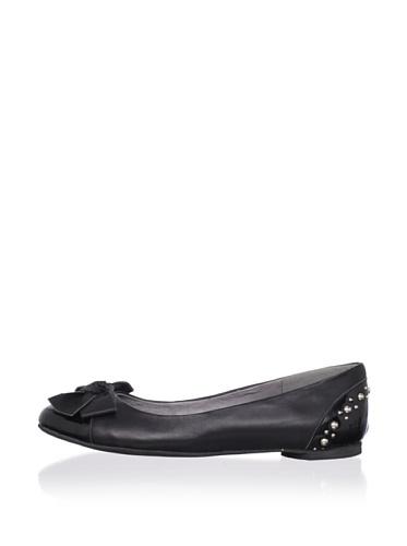 J. Loren Kid's Allisa Patent Leather Dress Shoe (Black)