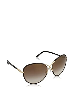 TOM FORD Sonnenbrille Mod.FT0344 MET 130_48G (62 mm) braun