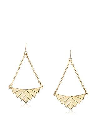 Yochi Triangle Swing Earrings