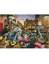 500 Piece Classics Motorcycle Jigsaw Puzzle
