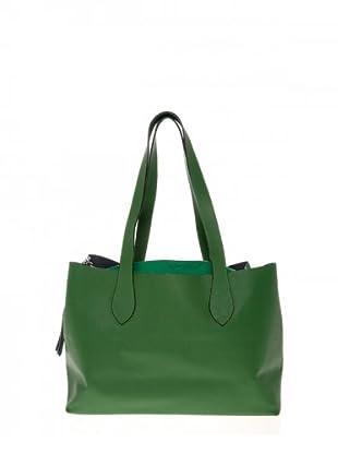 Elysa Tote-Bag mit Quaste (Grün)