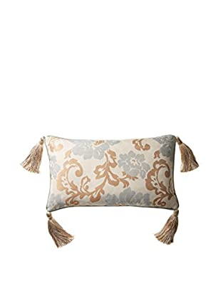 Belmont Home Lorelei Decorative Pillow, Spa Blue/Gold/Ivory, 13
