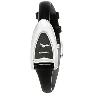 Fastrack NE2262SL02 Women's Watch-Black