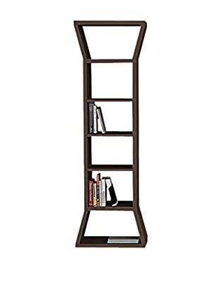 Best seller living Bücherregal Sutun braun