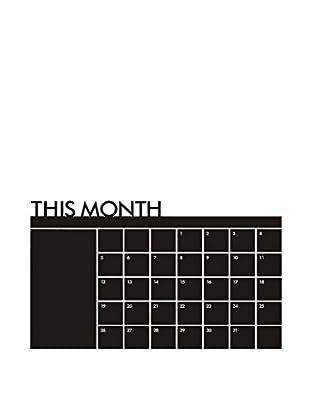 LO+DEMODA Vinilo tipo Pizarra Calendar