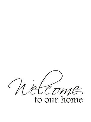 LO+DEMODA Wandtattoo Welcome Home