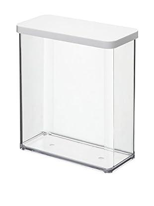 Rotho Frischhaltebox 2er Set Loft - Starter 3.2 L transparent/weiß