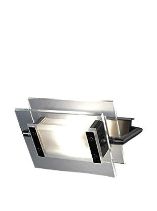 Leucos Wand- und Deckenlampe 360 Gradi 200 Led transparent/metall