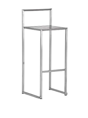 Zuo Modern Dalton Bar Chair, Stainless Steel