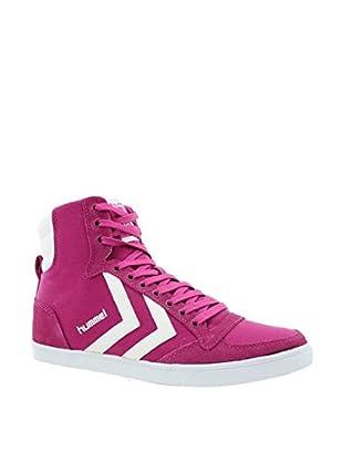 Hummel Sneaker Slimmer Stadil High (himbeere)