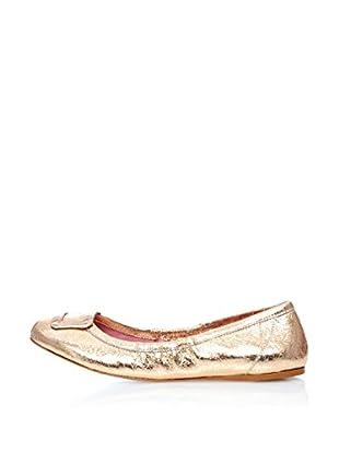 Fornarina Bailarinas Gold Metallic (Dorado)