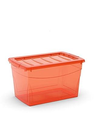 Kis Set Caja de Almacenamiento 6 Piezas Omnibox M  Rojo